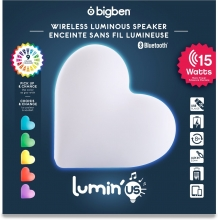 Bigben Lumin'us Hart - Bluetooth Speaker met LED